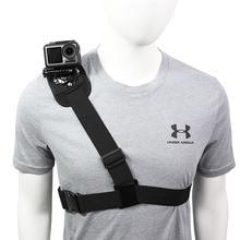 Rotate Shoulder Strap Mount for DJI OSMO ACTION GoPro Hero 8 7 6 5 4 session Yi 4K SJCAM EKEN AKASO Sport Camera Accessory