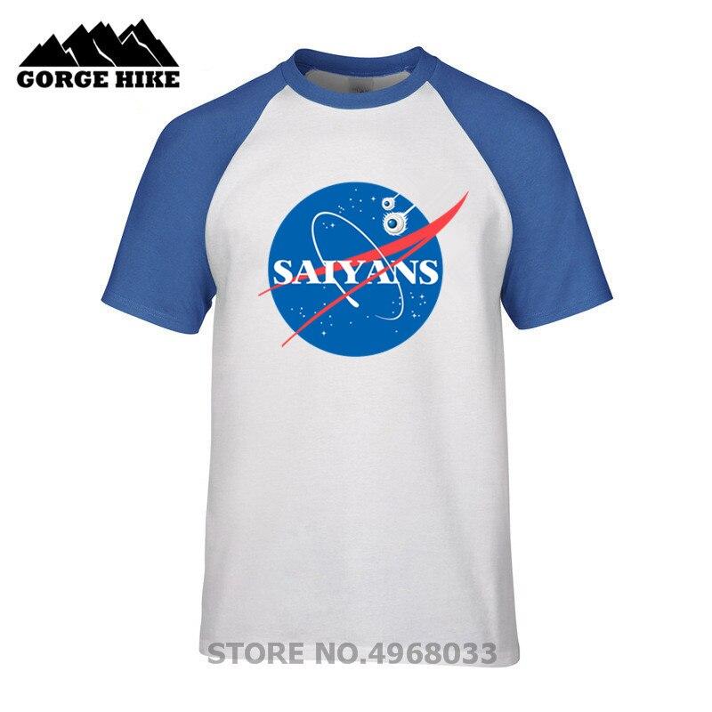 Camiseta de verano para hombre SpaceX Dragon Ball Super saiyans mashup espacio X Anime divertida camiseta hombre chicos ropa al aire libre camiseta top tees
