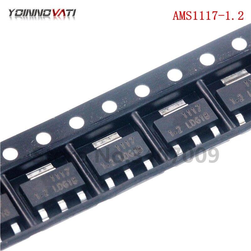100 шт./лот AMS1117-1.2 LM1117-1.2 СОТ-223 1,2 V AMS1117