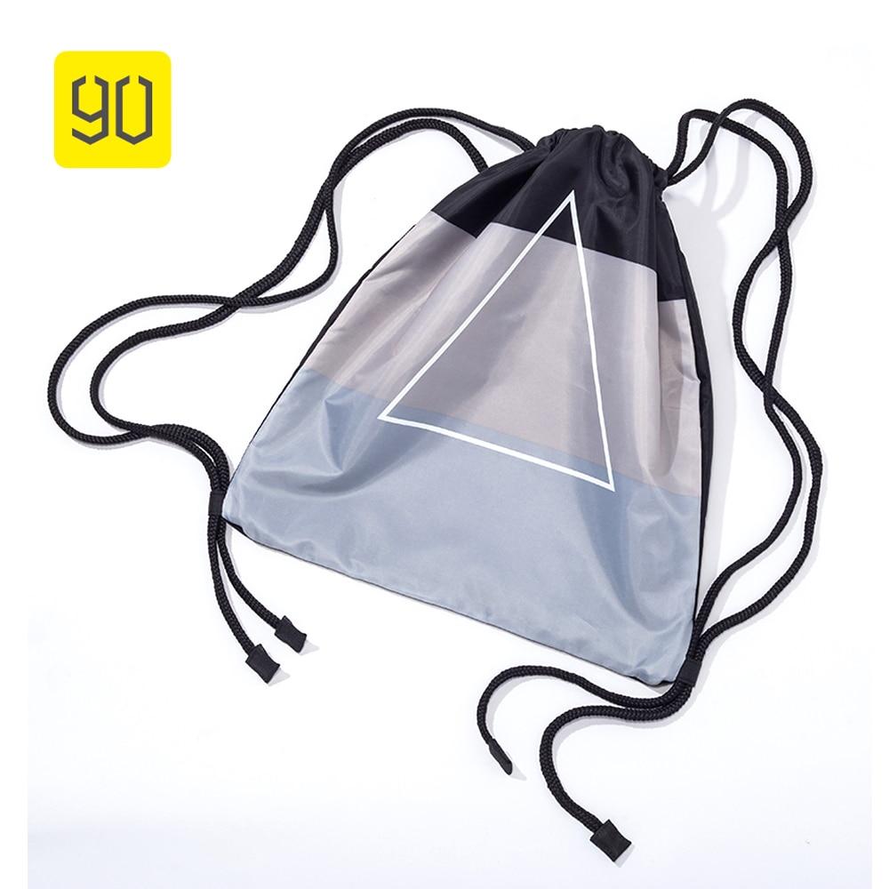 Xiaomi 90 divertido bolso impermeable con cordón para mujer, Mochila portátil para escuela, Mochila estampada para niñas, Mochila de viaje duradera