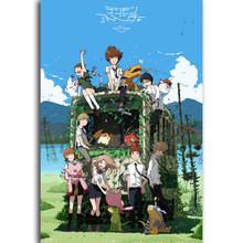 S361 Digimon Adventure Tri Classic Anime Series pared arte pintura impresión en lienzo de seda póster decoración del hogar