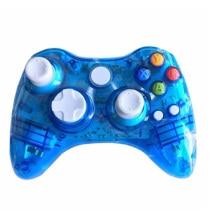 ViGRAND 1 pièces sans fil Manette Gamepad Manette bleue Pour Xbox 360 Manette console pour Windows XP/Vista/Win 7/8/8.1/10