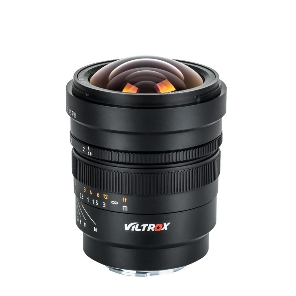 VILTROX 20mm f/1,8 ASPH marco completo gran angular-principal foco fijo para cámara Sony NEX E A9 A7M3 A7RIV A7III A7S A6500 Nikon Z6 Z7