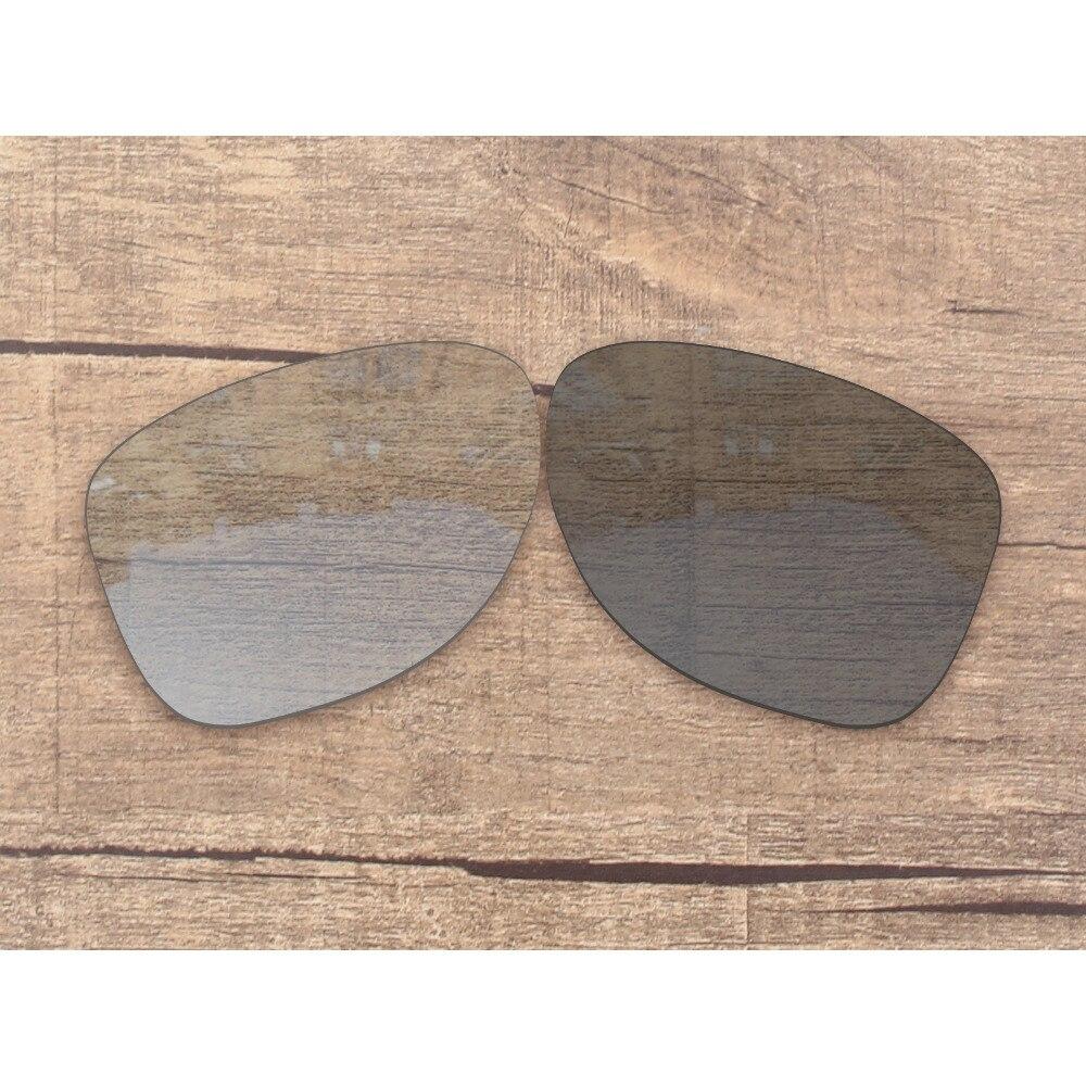 Vonxyz Grey Photochromic Polarized Replacement Lenses for-Oakley Dispatch 2 Frame