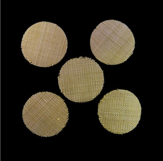 5000pcs tobacco smoking pipe brass screen net  in wallet pack cigarette smoke stainless steel filter Filtrating screen gauze enlarge