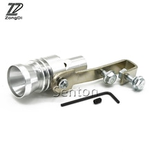 ZD 1set Car Styling Turbo Sound Whistle Simulator For Ford Focus 2 3 Fiesta Mondeo Ranger Kuga Seat Leon Ibiza Lexus Accessories