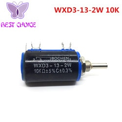 5 PCS Inteligente Eletrônica WXD3-13-2W 10 K Lado Rotary Rotary Multiturn Wirewound Potenciômetro