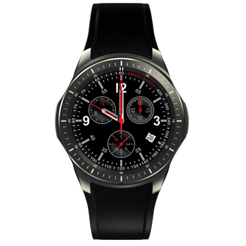 Condi DM368 reloj inteligente llamadas SMS 3G WiFi GPS tarjeta SIM música Monitor de ritmo cardíaco dispositivos portátiles para teléfonos Android 5,1