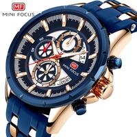MINIFOCUS Men Watch Top Luxury Brand Sport Watches Mens Quartz Wristwatch Male Clock Relogio Masculino MF0273G.02