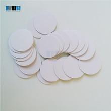 125KHZ T5577/T5567/T5557 Diameter 25mm Rewritable RFID Coin Card In Access Control Card