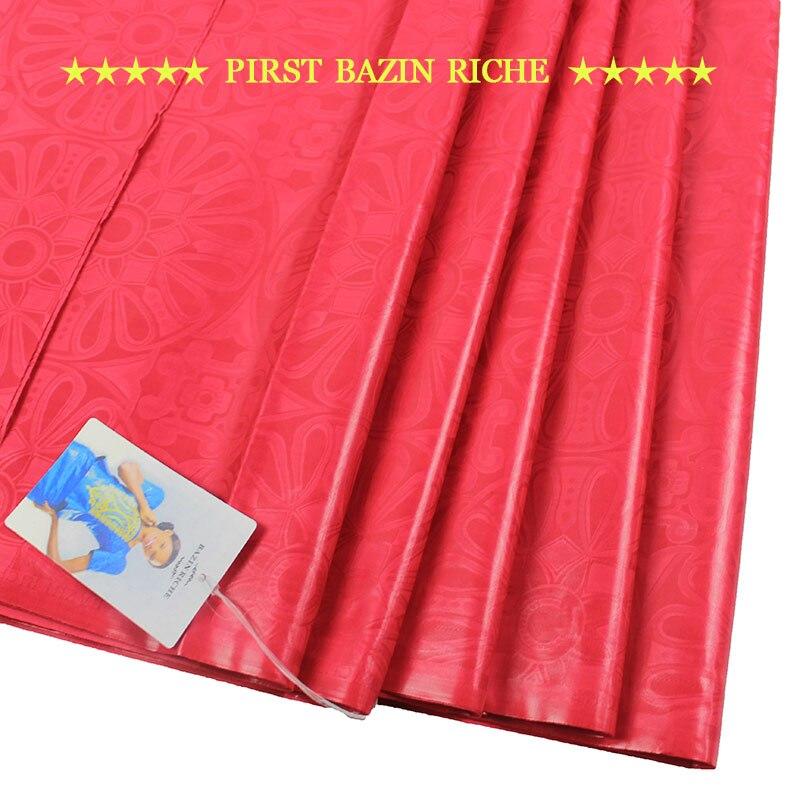 Tela Bazin Riche de Color púrpura tela con brocado de Guinea para ropa de calidad de Austria (calidad SIMILAR a Getzner) B16120817