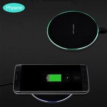 10 W QI Chargeur sans fil Pad Mirro haute vitesse Ultra mince pour Iphone8 11 pro Chargeur Induction pour Samsung S10 charge sans fil