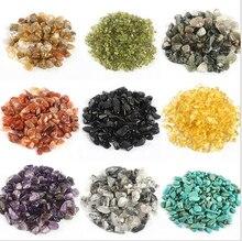 Aquarium multicolore pierres décoratives   Vase de jardin, cristaux de verre, décoration en pierre gemme, accessoires pour Aquarium, fournitures pour animaux domestiques