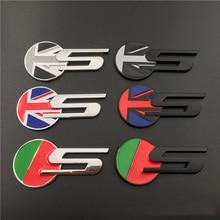Автомобильный Стайлинг для Jaguar S Флаг Великобритании эмблема задний багажник наклейка значок кузова декор для Jaguar XF XE X-Type S-Type F-PACE F-Type XKR XJ