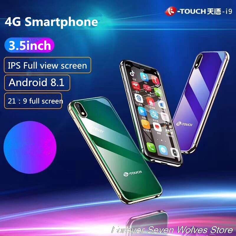 3 gb ram 32 gb rom android 6.0 mini 4g smartphone K-TOUCH i9 face id metal celular sim duplo telefone móvel