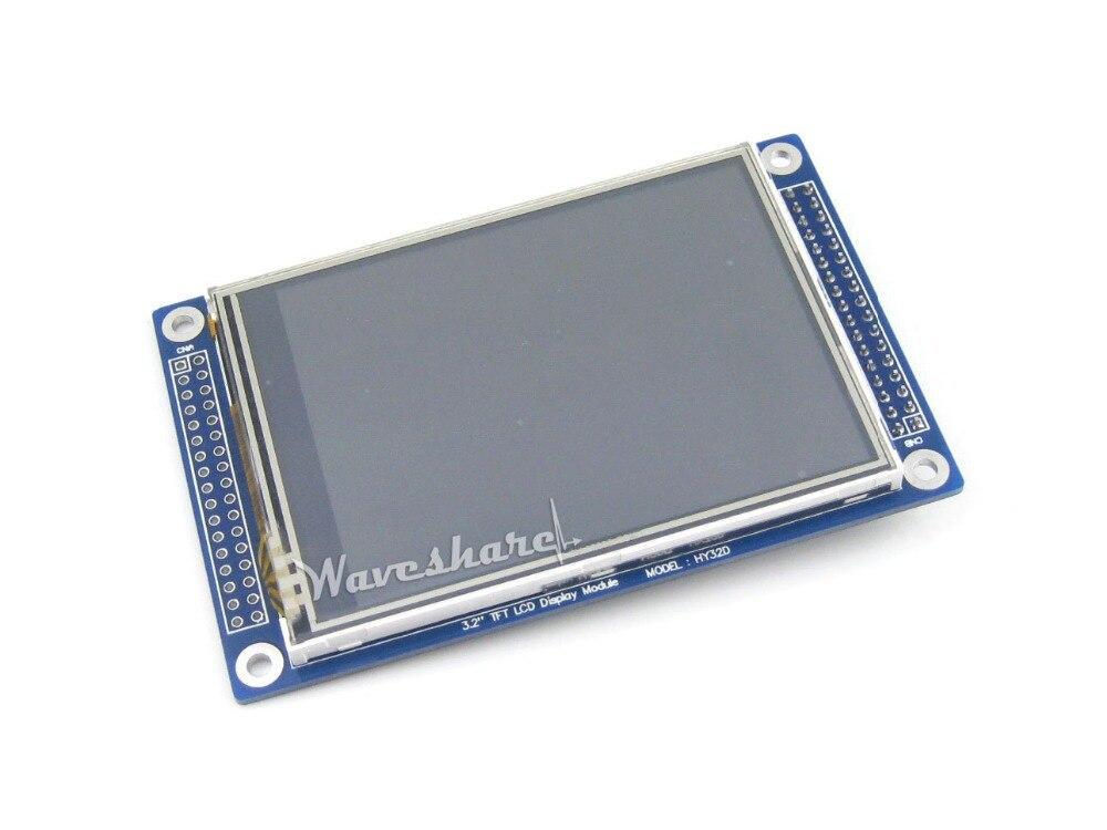 "10 Uds HY32D 3,2 pulgadas 320x240 pantalla táctil LCD 3,2 ""gráfica Multicolor LCD pantalla TFT LCD módulo Rev C"