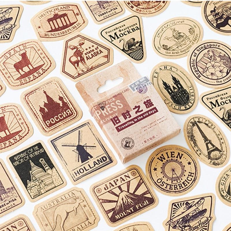 46-pz-pacco-adesivi-adesivi-da-viaggio-vintage-album-decorativo-diario-stick-etichetta-decor-adesivi-di-cancelleria