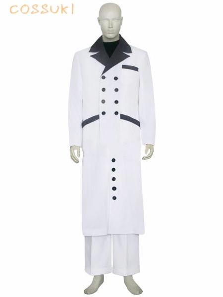 Disfraz de Cosplay uniforme de Rufo Shinra Final Fantasy VII 7, perfecto para ti.