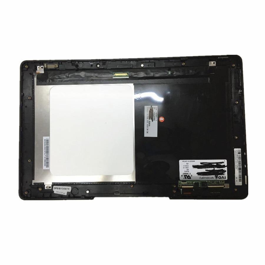 Para ASUS T300LA T300 M133NWF2 LCD pantalla táctil pantalla digitalizador Asamblea con herramientas libres