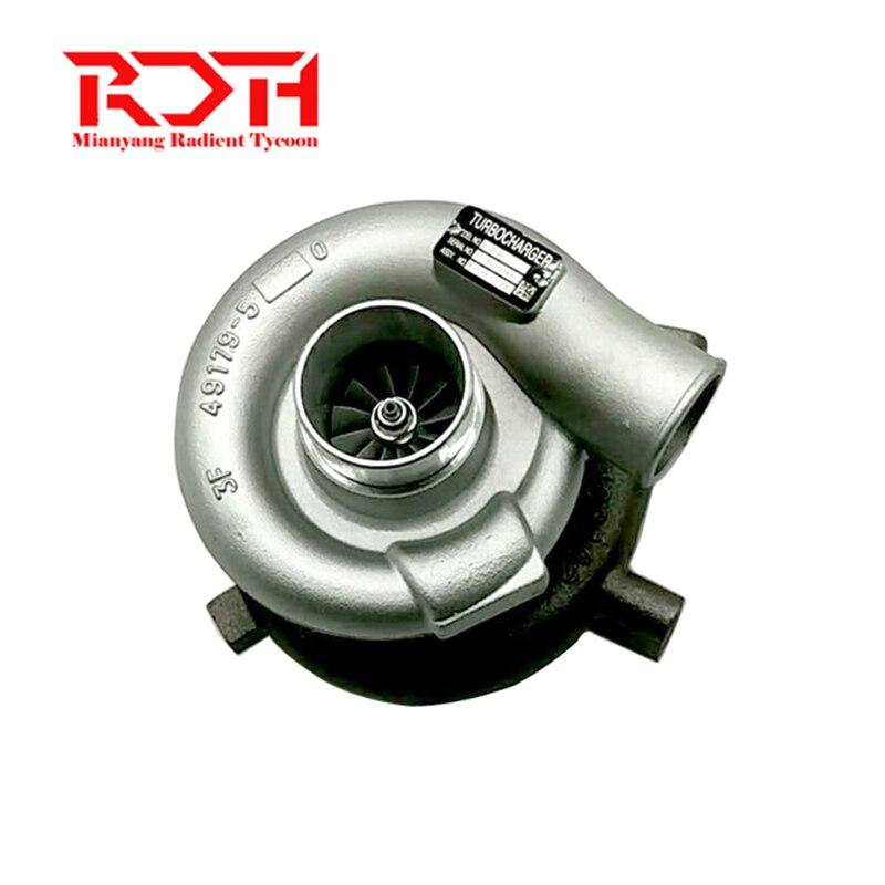 Turbocharger R160-7 49179-02390 49179-02340 turbo charger for Mitsubishi for Hyundai Excavator 320 Crawler 3066 diesel Engine