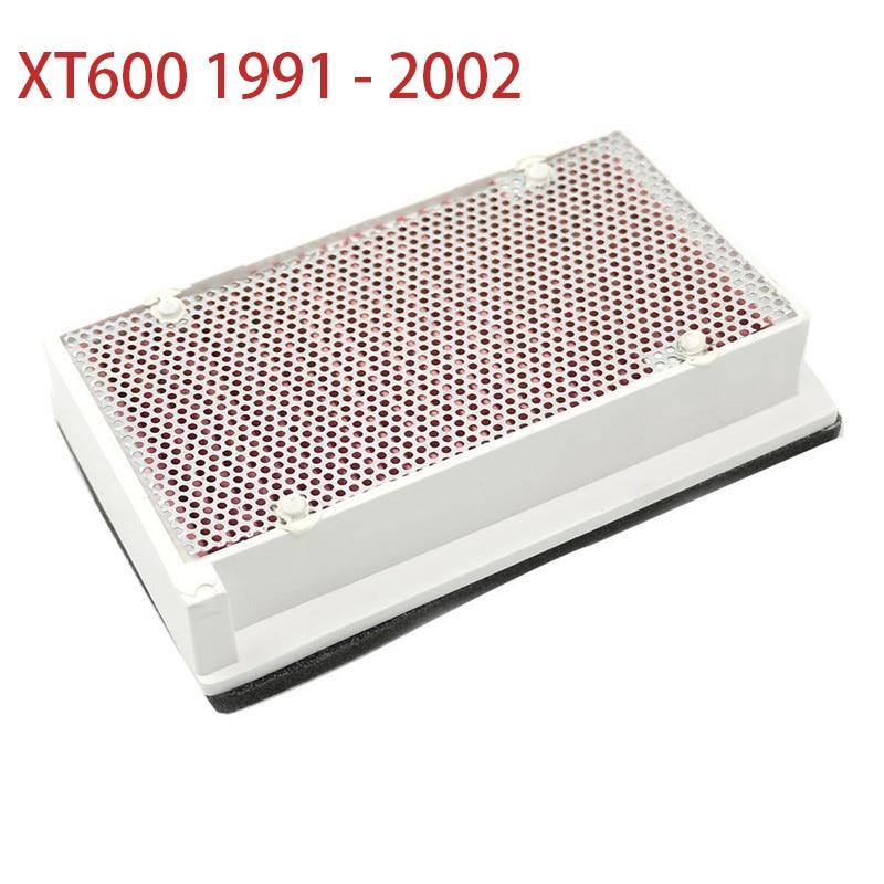 De alta calidad de gasa de algodón filtro de aire limpiador de filtro de entrada de aire elemento para Yamaha XT600 XT 600, 1991-2002, 2001, 2000, 1999, 1998