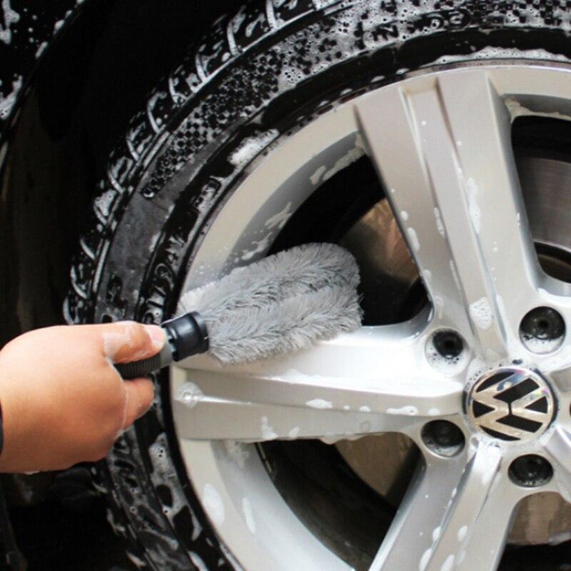 Щетка для чистки автомобильных шин для Volkswagen Golf 5 6 7 PASSAT B5 B6 B7 B8 MK4 MK5 MK6 тигуан Жук поло Бора T-ROC