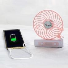 Carton Portable Mini Usb Fan Foldable 3 Gear Mini Cooler Quite Silent Fan Portable Hand Fan For Travel Outdoor
