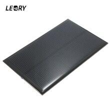 LEORY Hot 5V 1,25 W 250mA мини монокристаллическая солнечная панель силиконовый эпоксидный DIY модуль солнечных элементов для сотового телефона зарядное устройство