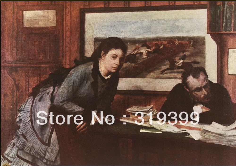 Reproducción de pintura al óleo sobre lienzo de lino, EDG por enfurruzado, envío DHL gratuito, 100% hecho a mano, la calidad del museo