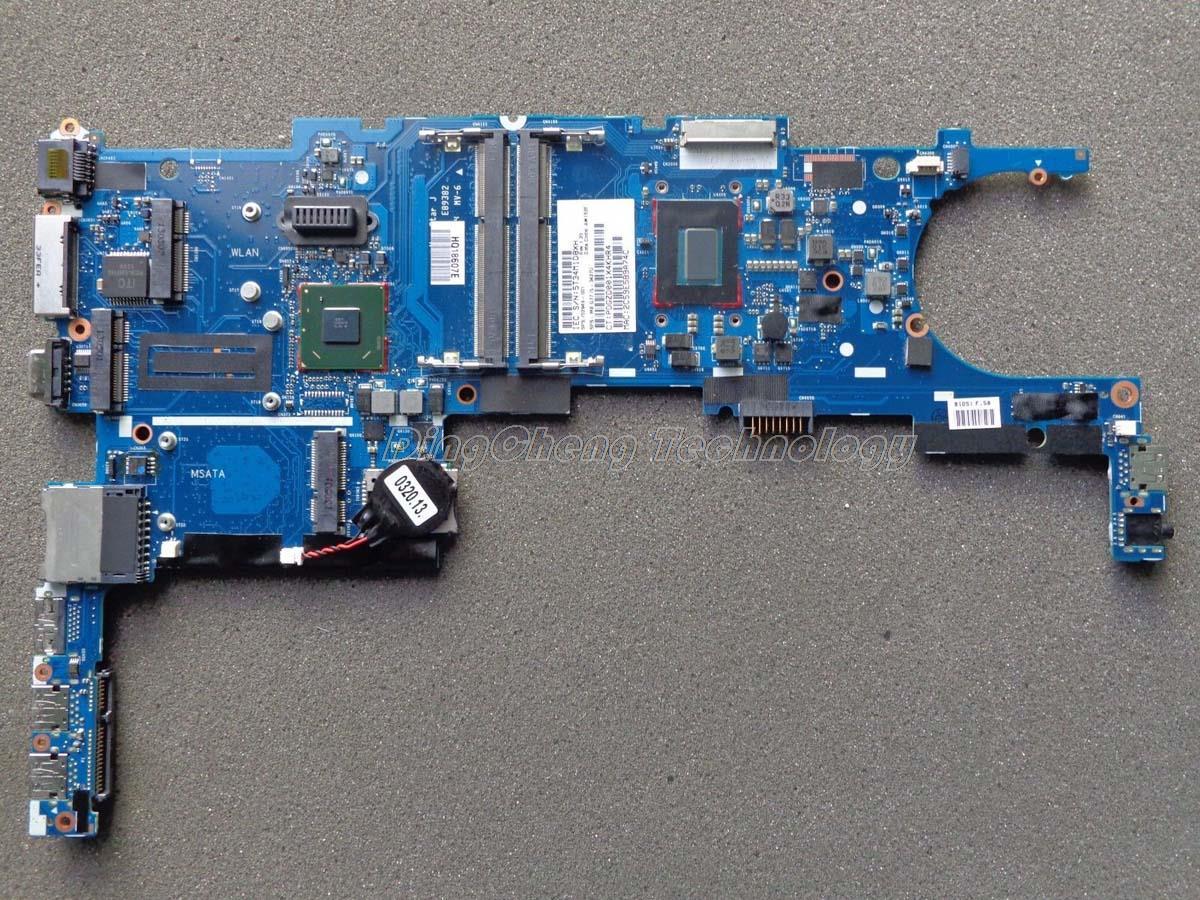 Placa base HOLYTIME para ordenador portátil hp 9470M 702849-001 i5-3427U DDR3 tarjeta gráfica integrada 100% totalmente probada