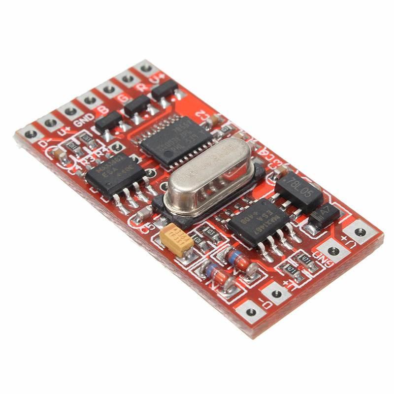 72W 6A DMX512 Decoder Board Codering Module Controller 3 Channel For RGB LED  Light Spot Lights DC12-24V
