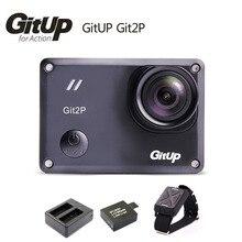 Caméra dorigine Gitup Git2 P WiFi Novatek 96660 1080 P 2 K Sport Helemet + batterie supplémentaire 1 pièces + chargeur de batterie + télécommande