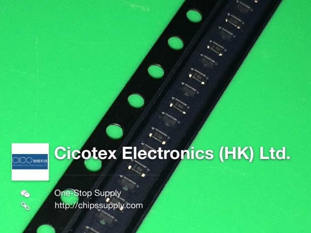100 unids/lote 1SS389 SOD523 0603 S4 diodo SCHOTTKY 10 V 100MA CES