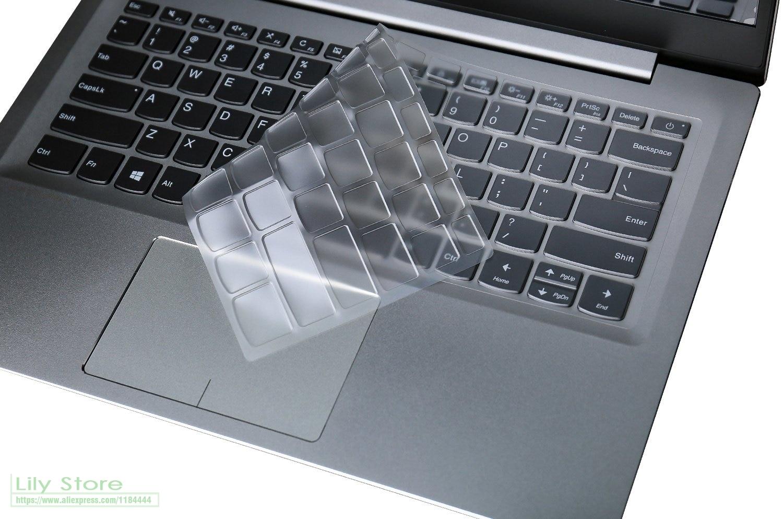 """Тонкий защитный чехол для клавиатуры из ТПУ для ноутбука Lenovo Flex 6 14 """"2-в-1 для Lenovo IdeaPad Flex 14 2019/Flex 6-14IKB"""