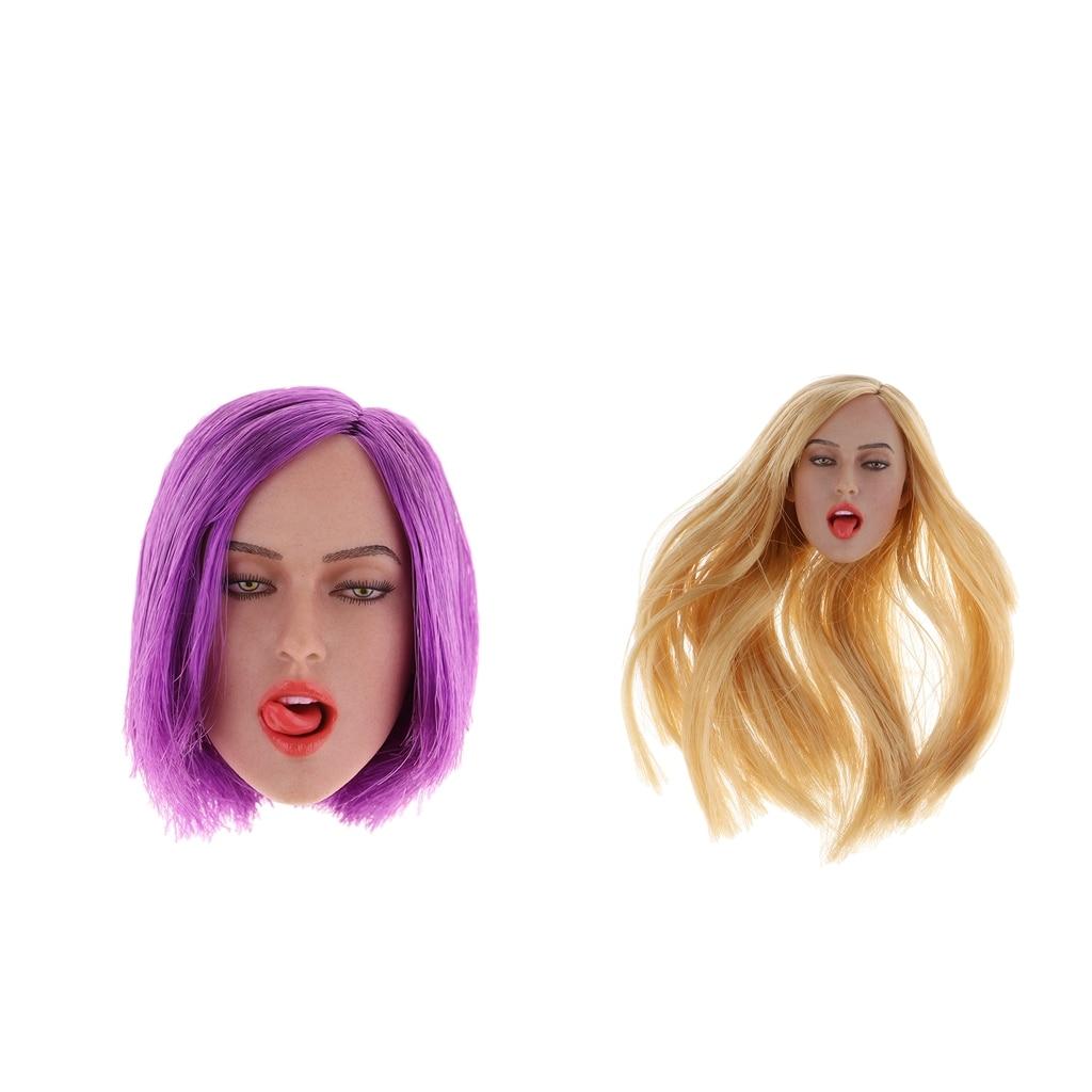 1/6 escala sem emenda europeu forma corpo grandes bustas escultura cabeça modelo para 12 ttttl enterbay/kumik bonecas peças