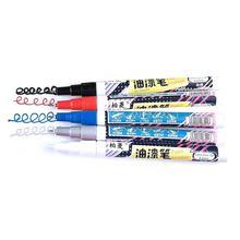 Stylo à peinture 0.5 MM aiguille à tête Fine stylo haute brillance marqueur de peinture permanente papeterie à base deau Premium remplissage papeterie