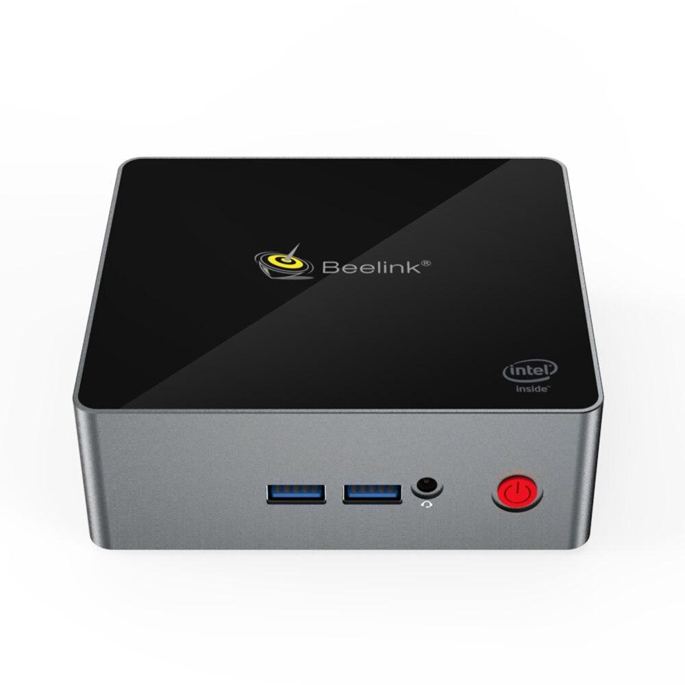 Beelink Gemini J45 8GB 128GB J4205 de windows 10 mini Soporte para PC HDD SSD DDR windows10 set top box Media Player