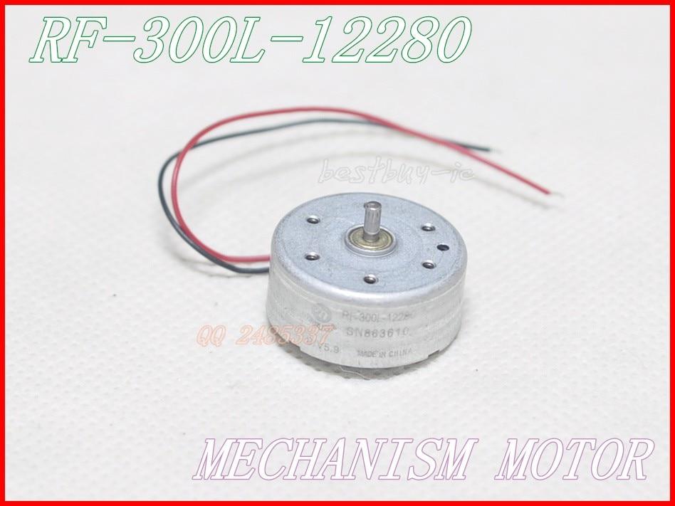 2pcs/ lot  VCD / CD / DVD Audio system motor RF-300L-12280 electrical locking systems motor