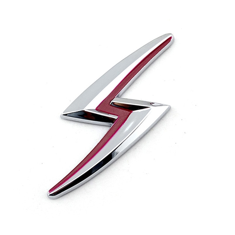 Pegatina de coche Teana de color rojo cromado emblema de insignia Lightning Silvia S15 S14 S13 200SX 240S