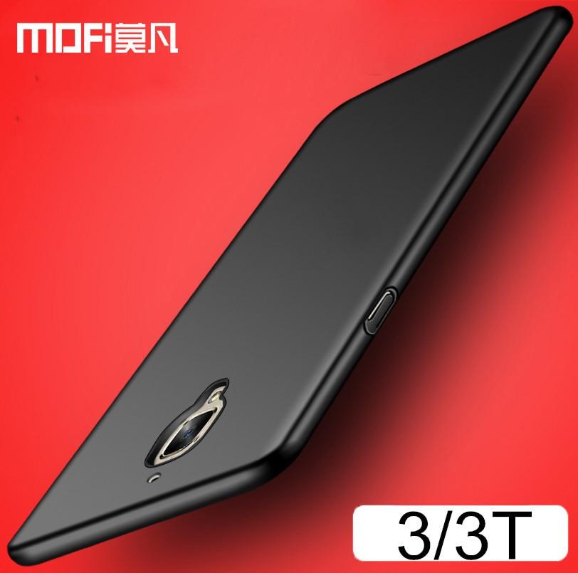 oneplus 3 case original oneplus 3t case cover hard back protection MOFi one plus 3 cover one plus 3t case 1 plus 3 capas
