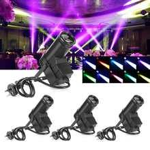 30W AC110-240V DMX RGBW LED  Light Pinspot Light Beam Spotlight 6CH Professional DISCO KTV DJ  Lighting Effect