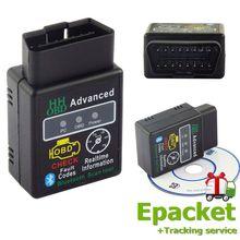 Автомобильный сканер ошибок, диагностический сканер для компьютера, Pro OBD2, расширенный ELM327 V2.1, Bluetooth, Автомобильный сканер, диагностические инструменты