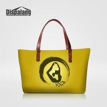 Dispalang Fashion Hobos Women Bag Ladies Brand Handbags Yoga Girls Pattern Casual Tote Bag Large Cpa