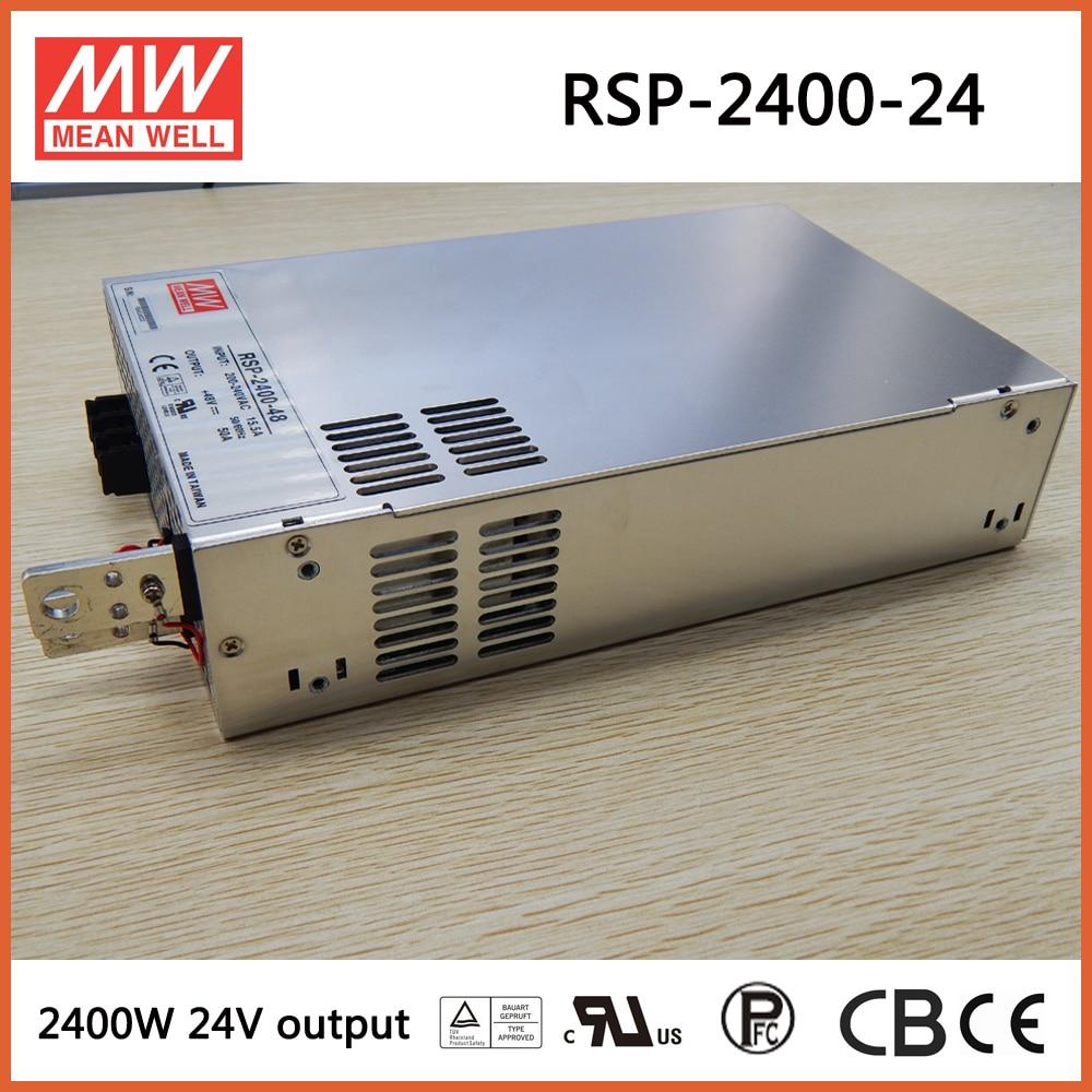 Decir bueno RSP-2400-24 meanwell 2400 W de salida única fuente de alimentación Meanwell RSP RSP-2400