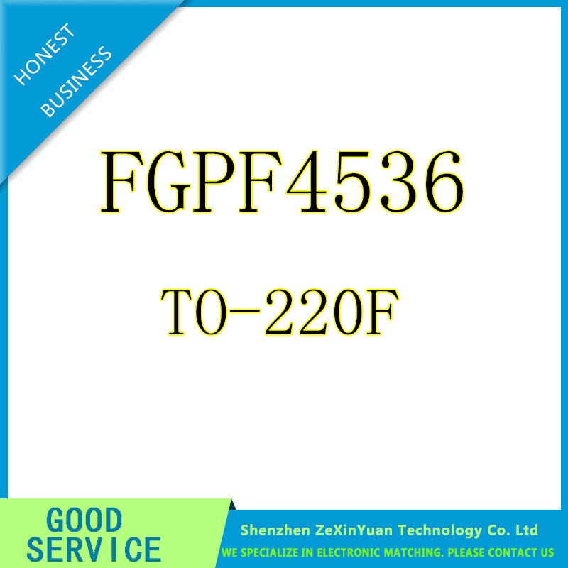100 pçs/lote FGPF4536 TO220F 360V 220A TV LCD Plasma transistor comum