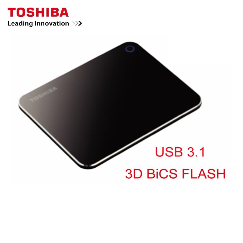 Disco Duro móvil Toshiba XS700 externo de estado sólido portátil SSD 240GB USB 3,1 tipo de alta velocidad C para ordenador