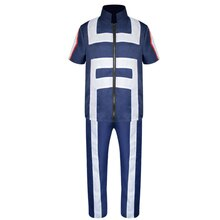 Boku No Hero Academia TODOROKI SHOTO Asui tsuyu ropa deportiva trajes de Cosplay mi héroe Academia uniforme de Halloween