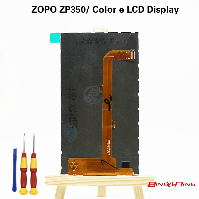 BingYeNIng nuevo Original para ZOPO ZP350/Color e reemplazo de montaje para pantalla LCD