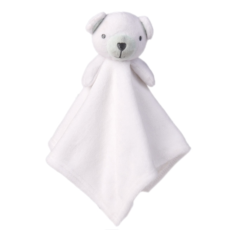 Cute Plush Rabbit Doll Toys Baby Pacifier Bunny Soothing Towel Infant Soft Security Blanket Rattle Toy