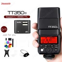 Godox TT350O GN36 HSS TTL Speedlite avec système X1 Speedlite Godox A1 Flash téléphone pour Olympus pour iPhone 6 s 7 s 8 X CD50